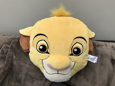 Disney Store Plush Lion King Simba Cushion Soft Toy LARGE 56 CM VGC