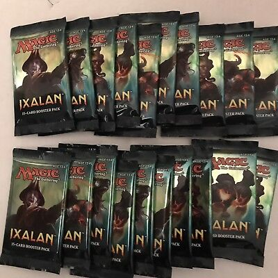 25 Magic the Gathering Booster Ixalan OVP englisch