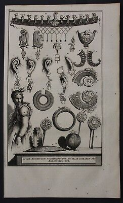 1726 Ambon island Indonesia Asia jewellery asian engraving Valentijn antique