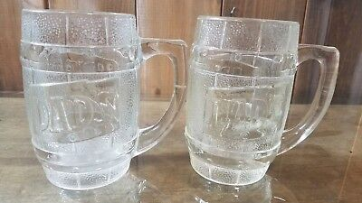 Vintage Dad's Root Beer Mugs Set Of 2 Fathers Day Gift