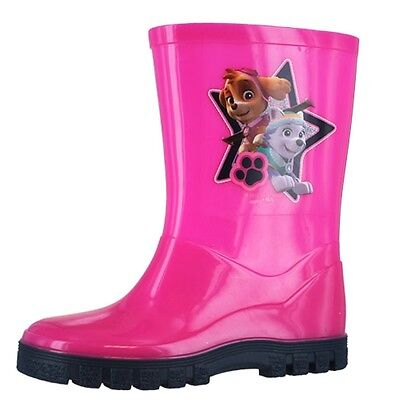 Paw Patrol Girls Pink Wellies - Kids Wellingtons