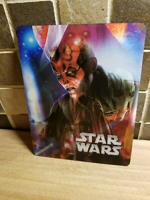 Star Wars 3D Lenticular Cover Magnet for Steelbook Brand New Limited