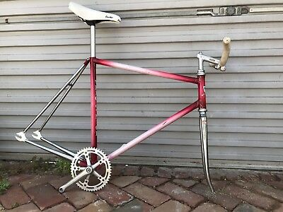'VELO DE NICE' Vintage French Track Bike Frame Fixed Gear