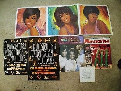 The Supremes magazines and posters