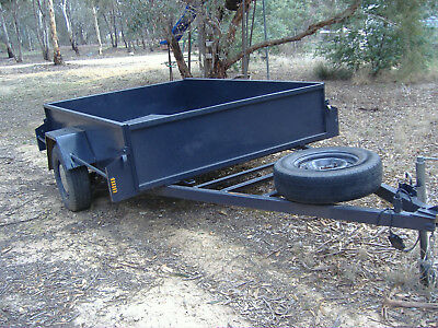 trailer 8ftx5ft8''