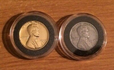 1944 Silver & Gold Penny