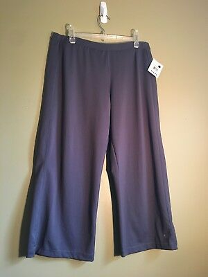 Danskin Athletic Pants *New With Tags * Size XL *Gray*