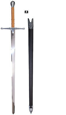 William Wallace Sword with Scabbard by Gladius of Toledo Spain