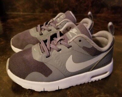 Nike Air Max Tavas Boy's Toddler Athletic Shoes- Gray- Size 9C- New without Box!