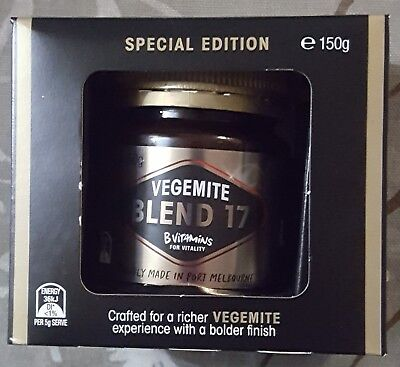 Vegemite Blend 17 Special Edition 2017 collector box