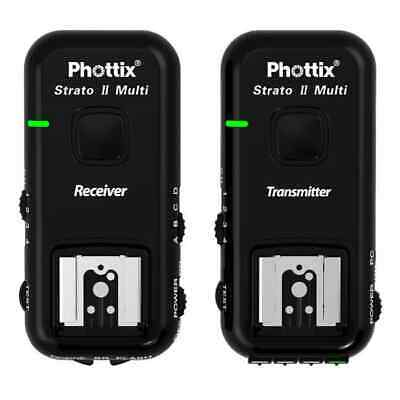 Phottix Strato II Multi 5-in-1 Trigger Transmitter and Receiver set fo