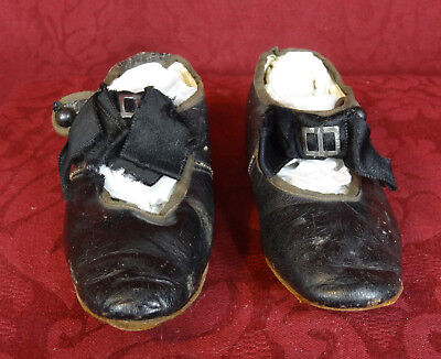 Antique Children's Leather Shoes