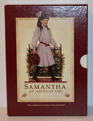 Retired Pleasant Company Samantha Boxed Book Set~1986 1St Edition! Hard Cover!