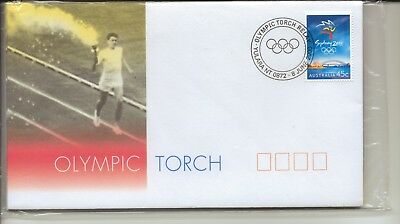 AUSTRALIA - 9x OLYMPIC TORCH - FIRST DAY COVERS - SYDNEY 2000