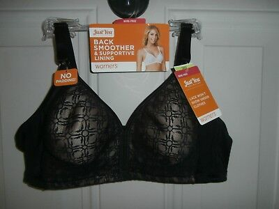 6985c4fd6ce26 Lot of 3 NWT Warner Just you Bra Wire Free size 40B Style RP3691A Lace 40
