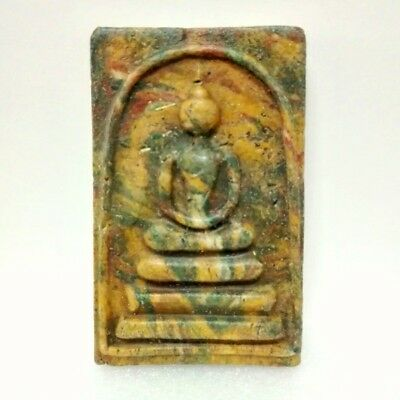 Thai Buddha Amulet Old Somdaj LP Pae AYUTTHAYA Art Antique Buddhist gorgeous