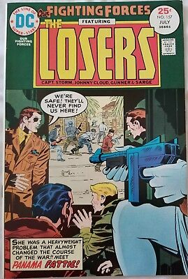Our Fighting Forces 157 Featuring The Losers  Kirby Story And Art Vf+