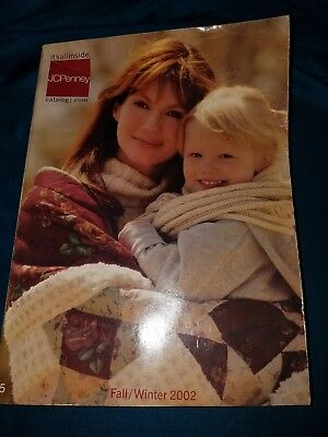 JCPenney  Big Book 2002 Fall and Winter Catalog Pre-owned Great Condition!