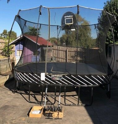 Springfree Trampoline 3.4M x 3.4M - Excellent Condition