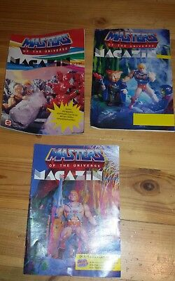 Masters of the universe 3x Magazin