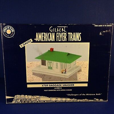 Lionel American Flyer Trains #789 BAGGAGE SMASHER S Gauge 6-49813 NEW IN BOX