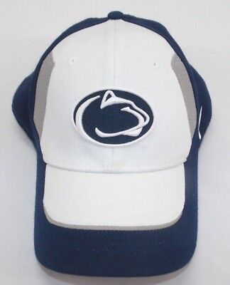 c75e0e57370a5 Nike Penn State Nittany Lions Hat Embroidered Acrylic Stretch Fit Spellout  EUC
