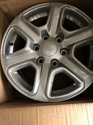 4 Alloy Wheels Taken From 2012 Ford Ranger XLT 17 inch alloy No Tyres