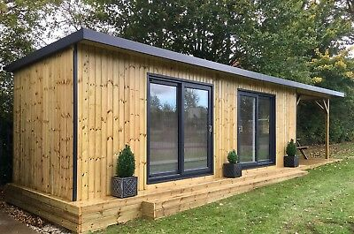 Home/garden/site Office - Pre Fabricated Customised Shipping Container