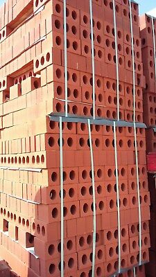 Pack of Dorking Red Bricks (approx 500 bricks)  New  (6 packs available)