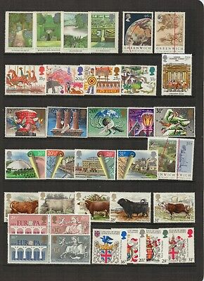 UNITED KINGDOM - Selection of beautiful MINT UNHINGED Stamps