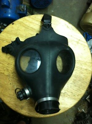Israeli Gas Mask Genuine Military Sealed no Filter Full NBC Protection