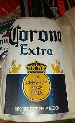 Corona beer beer can metal  tin NEW