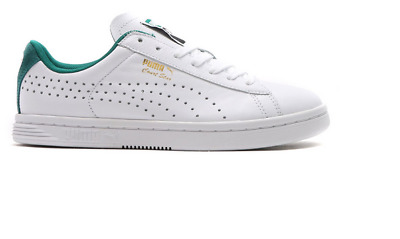 PUMA COURT STAR CRFTD Crafted White Black Mens Training Shoes ... cca6f49a5