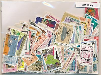 Iraq US Package 500 stamps different