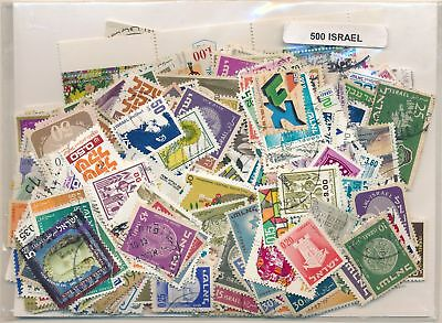 Israel US Package 500 stamps different