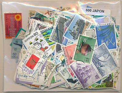 Japan US Package 600 stamps different