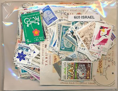 Israel US Package 600 stamps different
