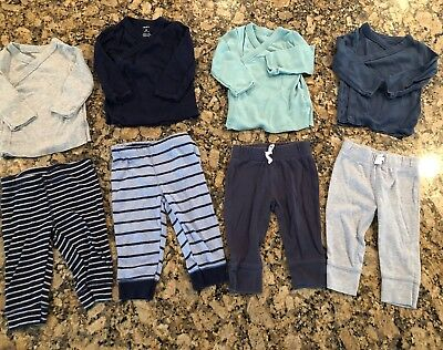 Carters Pre-owned Outfit Sets-Qty Of Four, 6 Mos