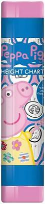 Peppa Pig Children's 160cm Height Chart With Colour Your Own Stickers