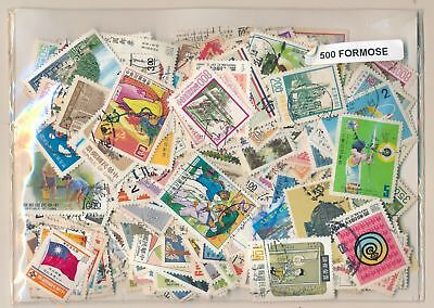 Taiwan-Formosa US Package 500 stamps different