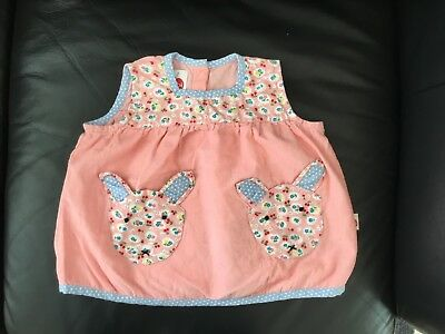 Oobi Brand Baby Girls Corduroy Dress Size 1 Pink