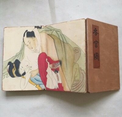 antique Ancient Chinese sex culture representative collections of books