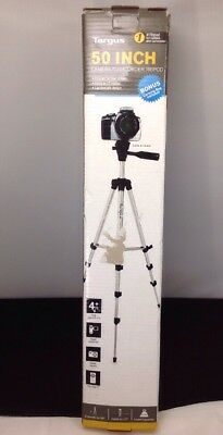 GENUINE Targus 50 Inch Camera Camcorder Tripod Extendable - BLACK SILVER - 437CL