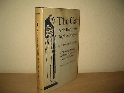 The Cat in the Mysteries of Magic & Religion W.Oldfield Howey 1956 OCCULT & MYTH