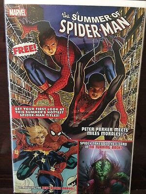SUMMER OF SPIDER-MAN SAMPLER AVENGING #9 1st Carol Danvers Captain Marvel NM HOT