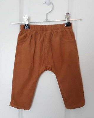 Baby Boy SPROUT Fully Lined Brown Cord Pants - Size 00