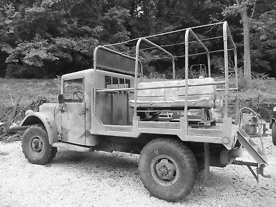 1952 Dodge Power Wagon  Dodge 1952 M-37 w / DIESEL road ready REDUCED. Seller is ill, must sell now.