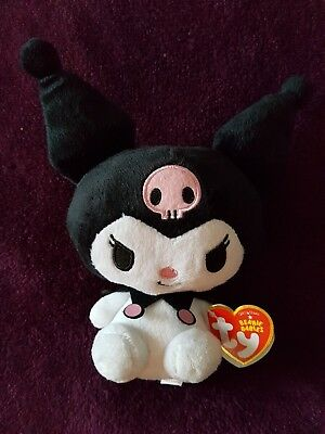 TY Beanie Baby Kuromi from Hello Kitty - Perfect condition with labels