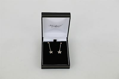 Fantastic Pair of Vintage CLOGAU Silver Earrings Boxed -2.5g