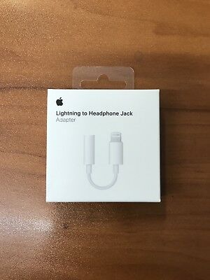 Apple Lightning to 3.5 mm Headphone Jack Adapter For iPhone 7 8 X Genuine OEM